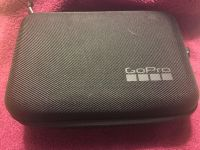 Silver GoPro 4 with case
