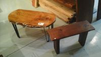 Reclaimed Vintage Barn Wood Benches