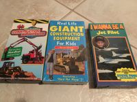 3 VHS Construction Vehicles & I Want to Be a Pilot