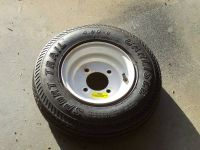 Utility Trailer tirerim, 4.80 tire and 8 rim both as new