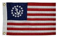 """Sell Taylor-Made Products US Yacht Ensign Sewn Boat Flag (12"""" x 18"""") motorcycle in Millsboro, Delaware, United States, for US $14.84"""