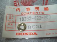 Purchase Genuine Honda Protector Gasket FT500 TRX250 GL1500 & More 18293-422-000 NEW NOS motorcycle in Sandusky, Michigan, US, for US $5.99