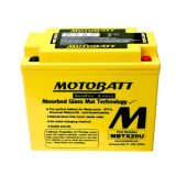 Buy Motobatt MBTX20U AGM PowerSports Battery for Harley Davidson Softail & Dyna + motorcycle in Manheim, Pennsylvania, United States, for US $102.00
