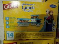 Frozen glad lunch containers brand new
