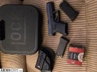 For Sale: Glock 36 Package $500 Cash or Trade