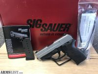 For Sale: Sig Sauer P239 With Sig Lite Night Sights Semi-Auto .40 Smith & Wesson Pistol Comes With 2 - 7 Round Magazine (With Pinky Magazine Extension), Original Box, Book & Lock $599.99