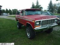 For Sale/Trade: 78 bronco