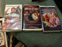 3 VHS Price for all.