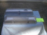 Sell 1958-1964 ford 352-427 primed red factory thunderbird valve covers galaxie motorcycle in Vancouver, Washington, United States, for US $129.99