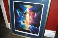 Star Trek - Beyond The Final Frontier. Authentic Lithograph!