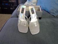 newer party heels worn 1 time -still have box