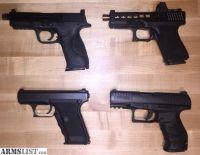 For Sale: H&K P7M8 Chantilly, ZEV/Glock 19 Gen4