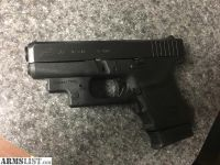 For Sale/Trade: Glock 36 with crimsontrace laser guard