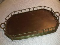Solid Brass Serving Tray