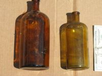 Antique Purex Bottles