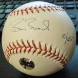 Collectors Barry Bonds Signed Autograph Baseball MLB COA - Passing The Torch