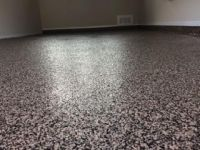 Epoxy, stain and polyaspartic concrete coatings