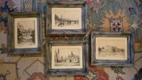Collection of 4 Vintage Etchings by Arthur Spencer