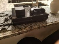 xbox one 500gb black with headset adapter, one controller and all cords