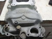 Purchase ALUMINUM INTAKE OFFENHOUSER DUAL PLAIN - SMALL BLOCK CHEVY motorcycle in Hampden, Massachusetts, United States