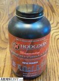 For Sale: Hodgdon Hornady Superperformance powder 1 lb