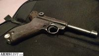 For Sale/Trade: German Nazi marked Mauser Luger P08