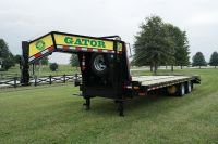 Gooseneck trailer GATOR  for sale 24.9 K