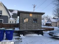For Sale/Trade: Rifle hunting cabin on wheels