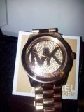 Authentic MK watch Rose Gold