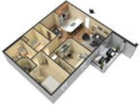 Convenient location 2 BR 2 BA for rent. Pet OK!