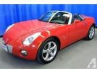 2006 Pontiac Solstice 2 Door Convertible