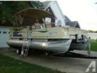 sq5026;*~ 2002 Crest Sport 20' pontoon~ 110 ;F.8*