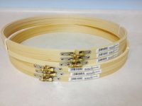 """New 14"""" wood needlework quilting hoops"""