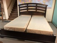 Beautiful King bed frame w/ box springs