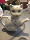 Antique cat creamer. About 7 inches tall
