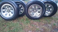 Tires and Rims 50% tread