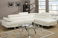 $599, Cruz leather style modern sectional