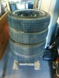 Set of 67Ford Mustang Rims w Tires