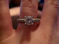 $8,500, Selling 1.17 CT engagement ring  custom wedding band  jewelry