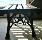TX star matching end tables or benches