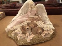 Angel with Bunnies $10