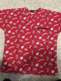 Badger scrub top size small