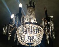 $650, Beautiful antique crystal chandelier for sale