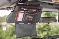 Buy Rugged Ridge 13305.07 - 07-09 Jeep Wrangler Black Sun Visor Organizers motorcycle in Suwanee, Georgia, US, for US $42.07