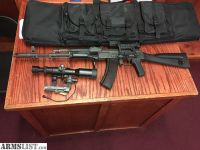 For Sale: AK-74 With Russian Optics