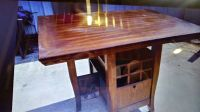 Nice Solid Wood Wine Rack Table