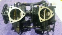 Purchase Tigershark 640 twin carbs CLEANED & REBUILT with intake Montego Daytona suzuki motorcycle in Saginaw, Michigan, United States, for US $130.00