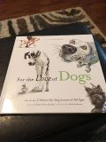 For the Love of Dogs Hardback book $2