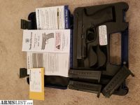 For Sale: Smith & Wesson M&P 9mm Full Size. Less than 300 rounds fired.