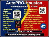 Brake   Transmission   Engine   AC   Electrical   Diagnostics and Repair